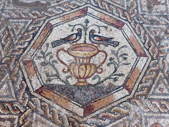 1 mosaic in lod credit assaf peretz courtesy of the israel antiquities authority 1