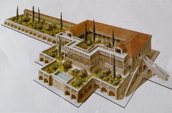 12 ben hur villa reconstructed