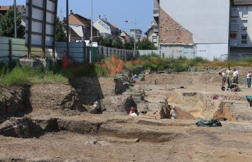 515x330 strasbourg le 11 juin 2015 archeologiques route des romains a koenigshoffen lions et sphinges 4