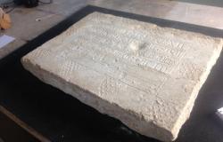561x360 epitaphe retrouvee lors fouilles saint sernin toulouse 2015