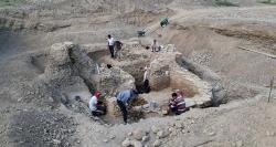 645x344 turkish kyrgyz archaelogists unearth karakhanid tomb in kyrgyzstan 1502143033733