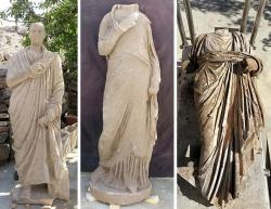 645x500 3 ancient statues of senior civil servants discovered in turkeys antalya 1505631784216