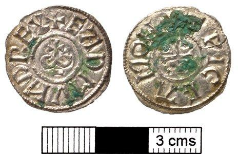 72305786 norfolk hoard edmund coin