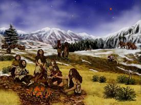 800px neanderthals artist