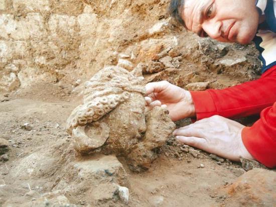 A terracotta copy