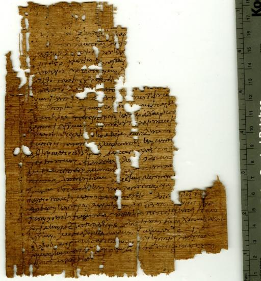 Ancient wrestling contract