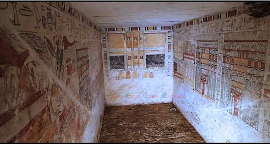 Ankhti tomb in sakkara by luxor times 3 copy
