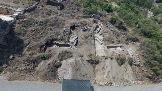 Antiochia dig 4 bouleuterionaerial1