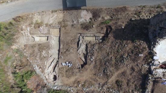 Antiochia dig 5 bouleuterionaerial2