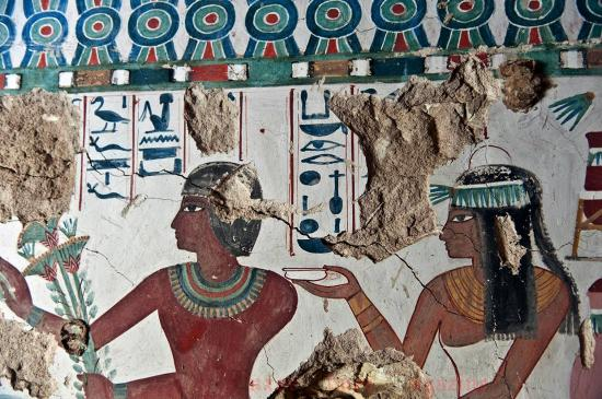 Arce discover satmut tomb in qurna by luxor times 1