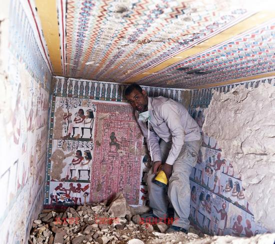 Arce discover satmut tomb in qurna by luxor times 4