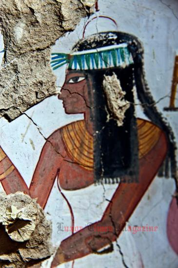 Arce discover satmut tomb in qurna by luxor times 6