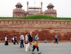 Archaeological survey of india has found evidence of water channel at red fort government