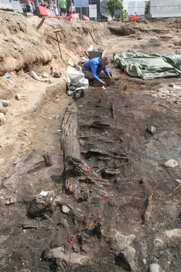 Boder under udgravning