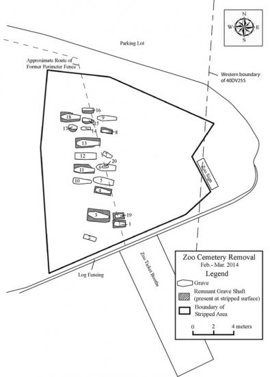 Cemetery plot map trc