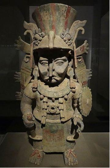 Chaak the maya rain god