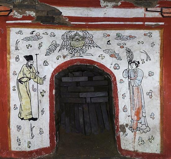 China tomb murals 4 141107