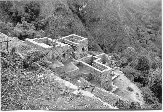 Choquequiroa casa de cascada group newly cleared