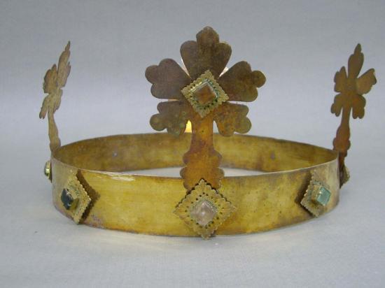 Corona enrico vii 1