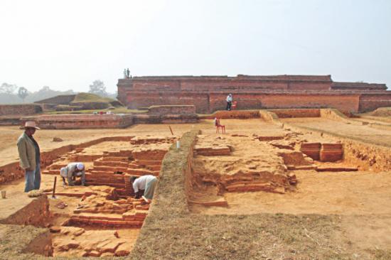 Cruciform temple 1