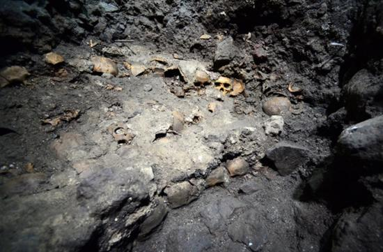 Dnews files 2015 08 massive human skull rack found at aztec temple complex 150821 jpg