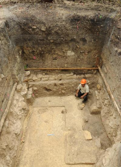 Early elite residence at ceibal c 750 bc photo by takeshi inomata