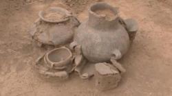 Encrusted ceramics bronze age culture danube baley bulgaria