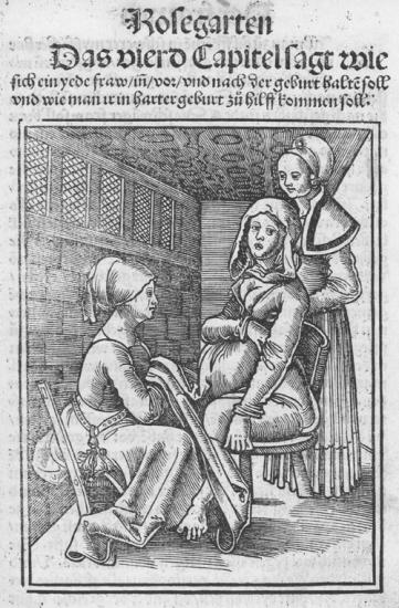 Eucharius ro lin rosgarten childbirth