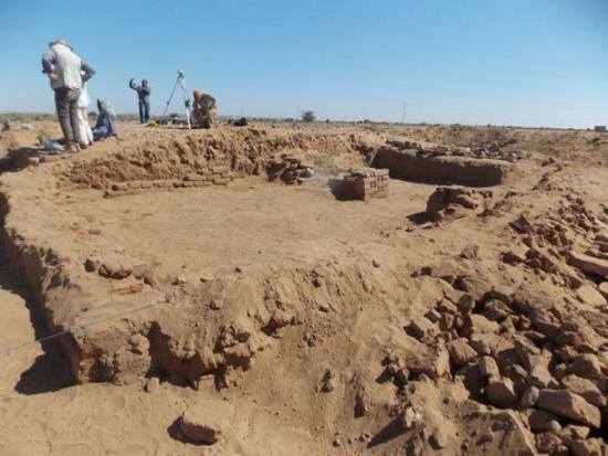 Excavating the site of abu erteila