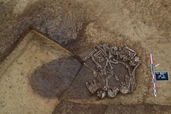Figure 5 sepulture plurielle du neolithique final
