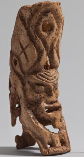 Figurine humanlike head