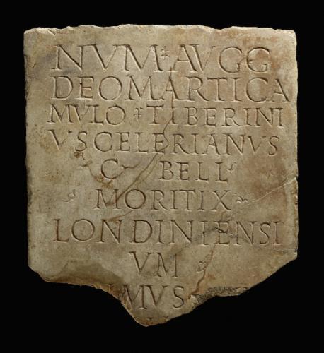 Fragment of a roman building inscription 61097