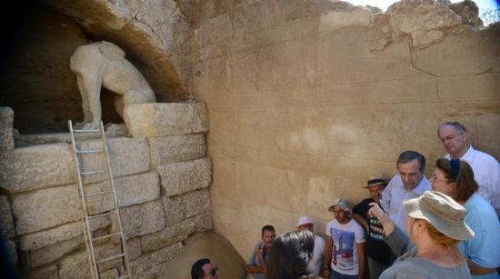 Great tomb discovered in amphipolis