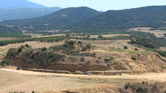 Greece amphipolis alexander afp