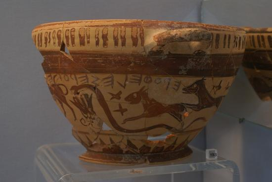Greek wine cup constellations 1