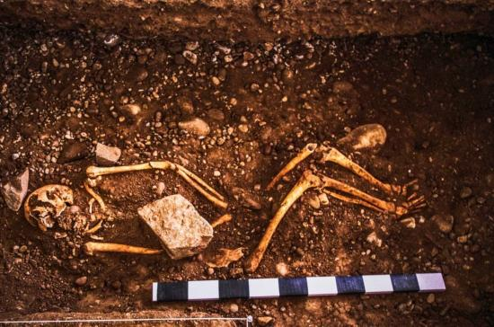 Human sacrifice buried near ushnu ceremonial platform belonging hatun xauxa one most