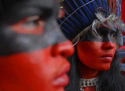 Indigenous people march daylife com