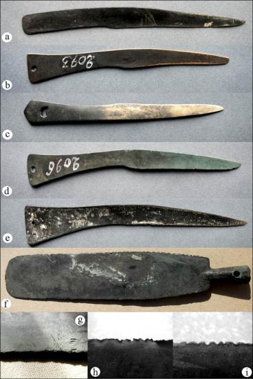 Inside knives examples minusinsk