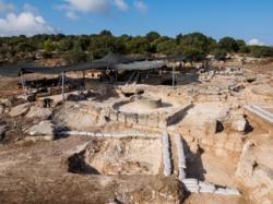 Israel byzantine monastery