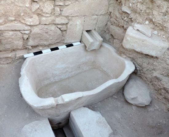 Kouklia ancient jacuzzi