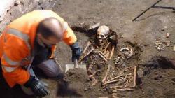 Les sepultures datent du moyen age