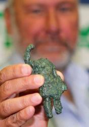 Mars figurine