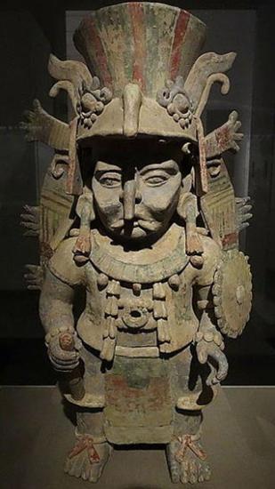 Maya rain god