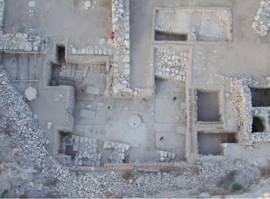 Megiddo aerial