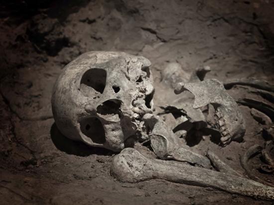Mi viking skeleton dig archaelogy getty