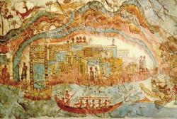 Minoan port