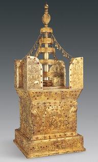 Model stupa buddha 1