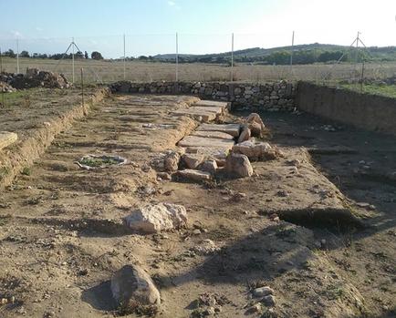 Necropole des tombes a puits