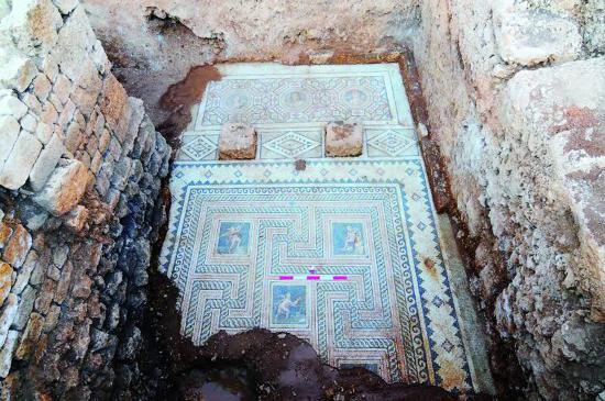 Olba da c kar lan 1800 y ll k mozaik