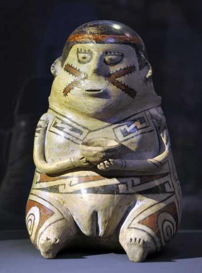 Paquime casas grandes pottery ceramic figurine